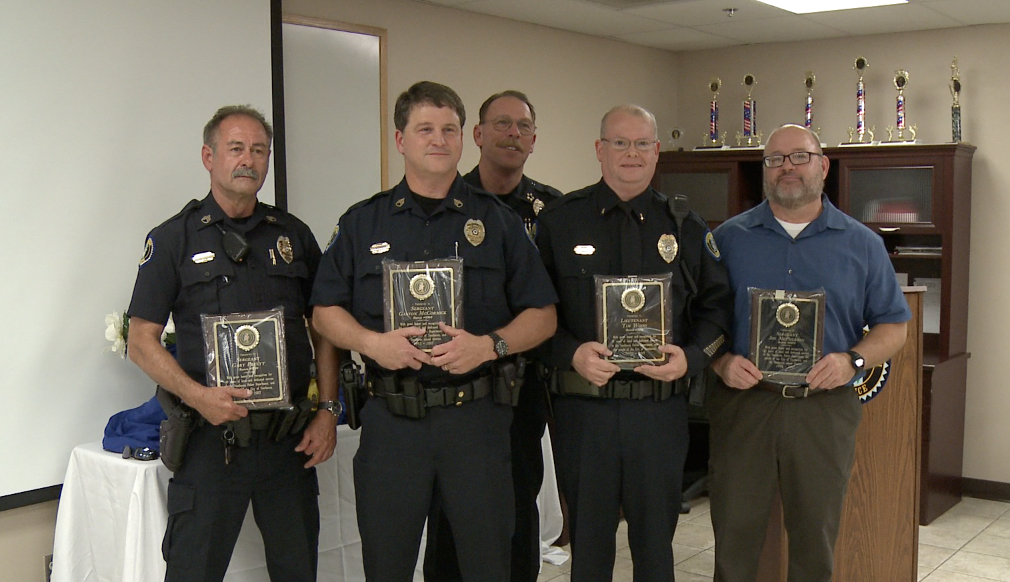 Four Southaven Police Officers Hang Up Their Badges
