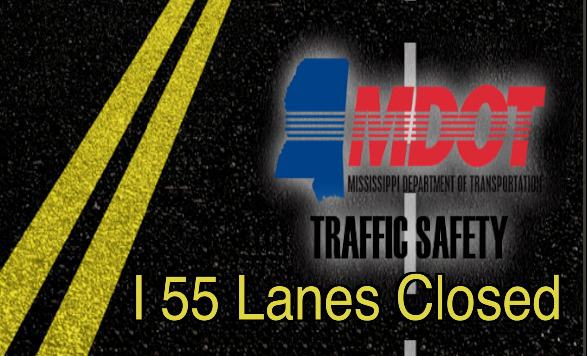 I 55 LANES CLOSED FOR NEXT FEW WEEKS