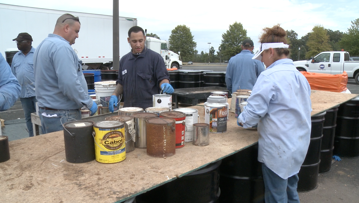 Hazardous Waste Day a Great Success