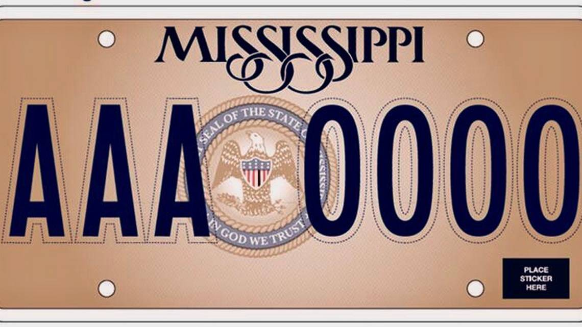 "Car Tags: Mississippi Car Tags Will Have ""In God We Trust"""