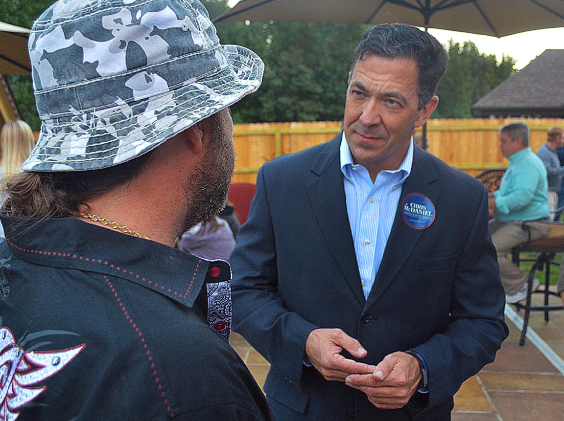 McDaniel Stops In Southaven To Rally The Troops