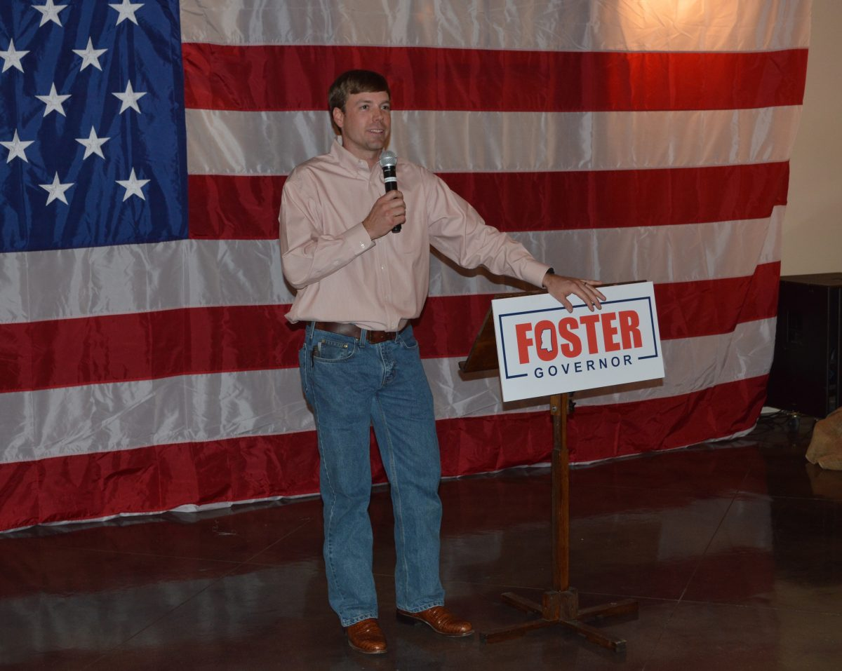 Robert Foster Is Running for Governor